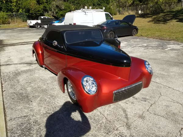1941 Willys convertible
