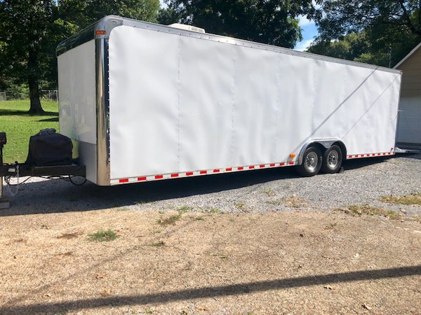 PACE 30' ECLOSED NEW EXTERIOR/DRAGSTER LIFT!!!  for Sale $12,500