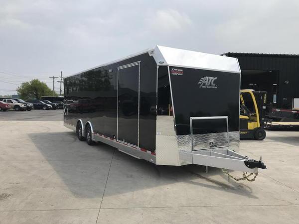 2020 ATC QUEST X 8.5X28 Car / Racing Trailer....STOCK# AT-21