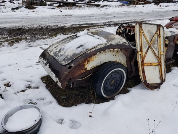 1957 MG MGA  for Sale $9,500
