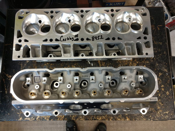 LS 7.0 liter LSX Cylinder Heads CNC 395 CFM  for Sale $1,400