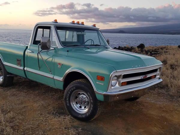 1968 Chevrolet K20 Pickup  for Sale $40,000