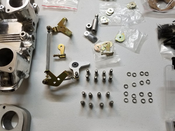 Chevy LS2 manifold with weber IDF  for Sale $2,500