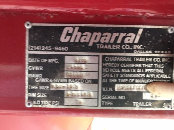 43 foot Chaparral  for Sale $6,250