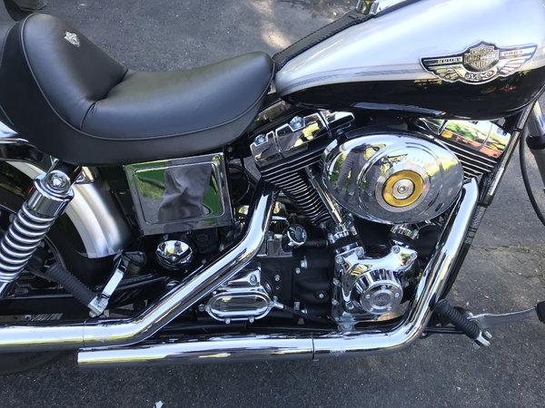 Harley wide glide Annv.  for Sale $7,995