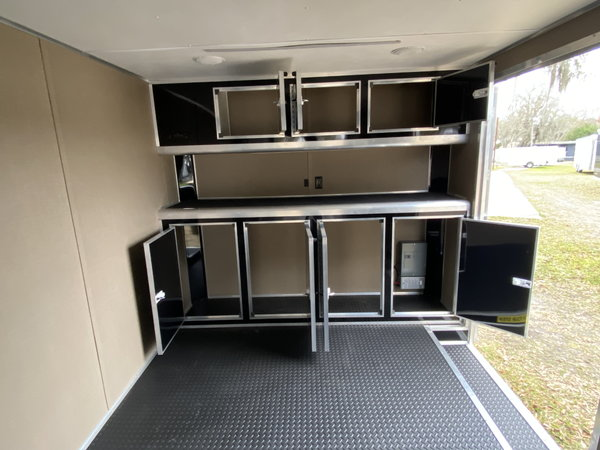 2021 8.5' x 34' CARGO MATE STACKER