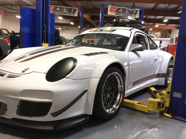 Porsche GT3 R Wide Body 997.2 Race Car  for Sale $61,500