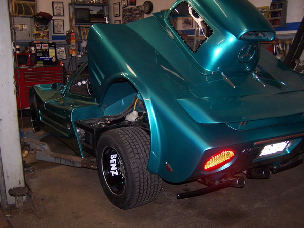 Over the edge street legal race car might TRADE