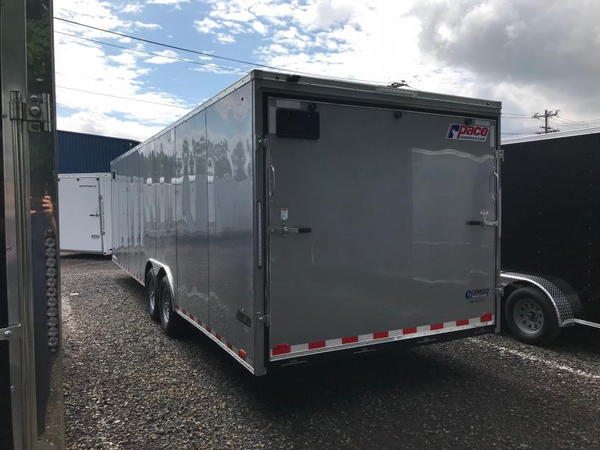 2019 Pace American Windstar Car Hauler, 8.5x28  for Sale $9,912