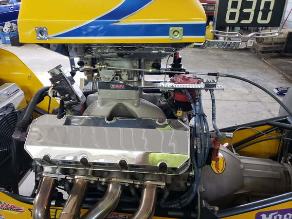 2009 American race cars built dragster turn key .  for Sale $38,000