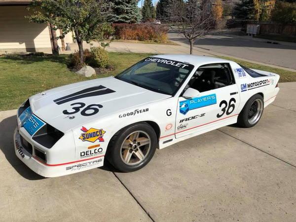 1989 Players Challenge Camaro - 1LE R7U  for Sale $15,000