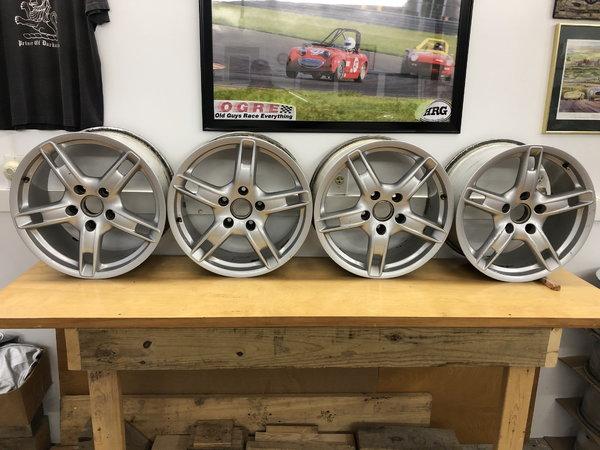 "Porsche 18"" Wheels  for Sale $800"