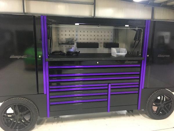 SNAP-ON TOOL BOX, NEW!!! PIT BOX/GARAGE
