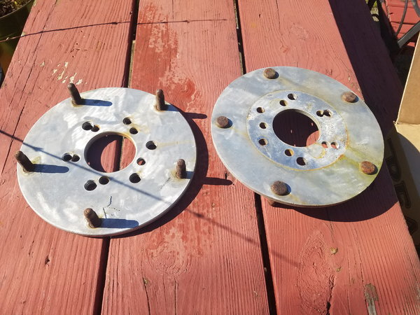 Wide 5 wheel centers,i have 2, 6 x 5.5 & 5x4.5  for Sale $80