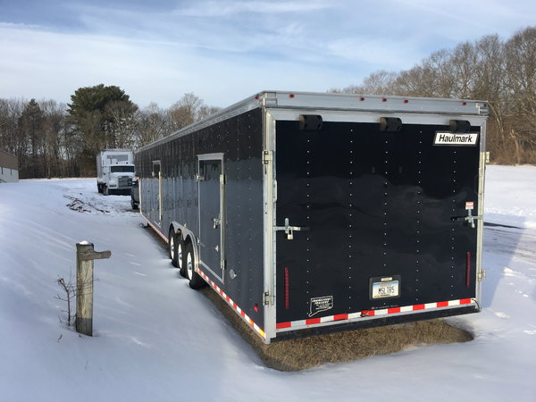 2016 Racing Trailer 48ft Haulmark w/Hyrdaulic Jack  for Sale $19,500