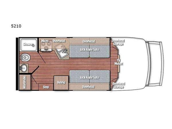 2022 Gulf Stream RV BT Cruiser 5210