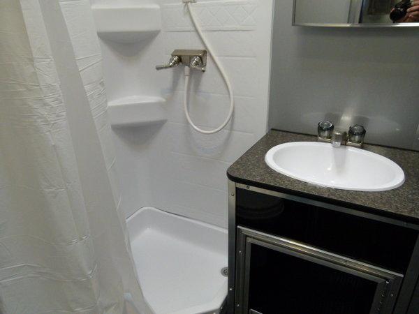2020 34' VINTAGE PROSTOCK BATHROOM TRAILER