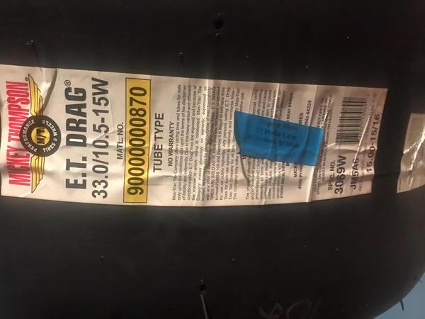 M/T Slicks  for Sale $550