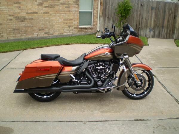 Harley 2013 road glide cvo custom