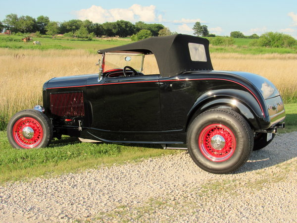 1932 Ford Hi Boy Roadster--Iconic & Excellent  for Sale $36,750