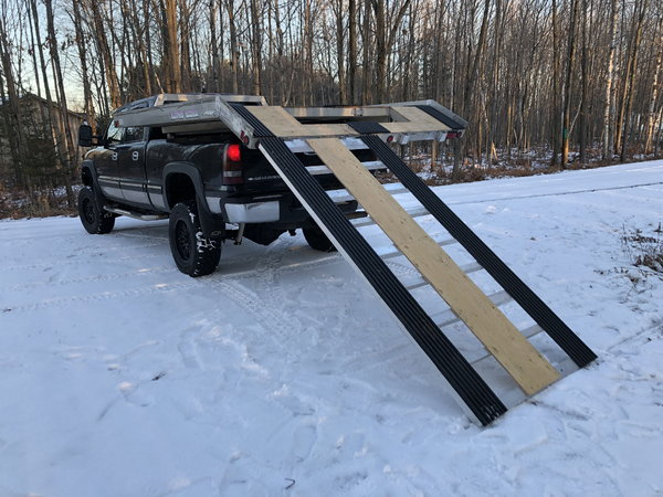 All Aluminum Sled Deck  for Sale $1,500