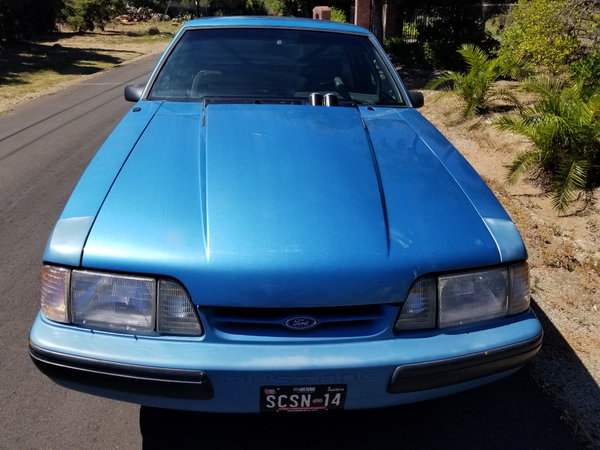 1991 Ford Mustang Notchback,TUBBED,CAGED,421 Stroker