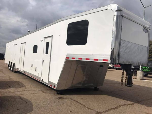 52, Loaded Continental Cargo Race trailer with Onan Generato  for Sale $59,999
