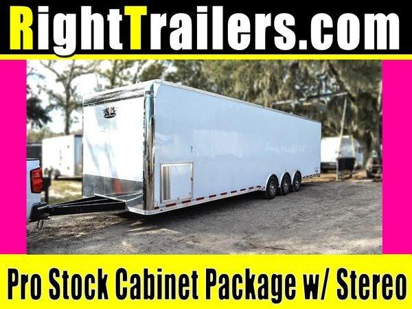 2020 Pro Stock Elite 34' Trailer - Dragster Lift - Loaded OU