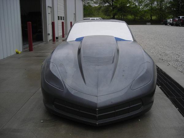 2016 JBRC Kit C-7 Corvette Radial Car  for Sale $95,000