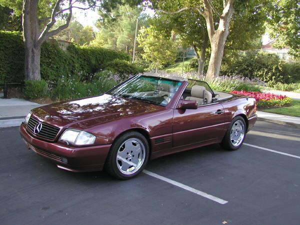 1992 Mercedes-Benz 500SL  for Sale $9,000