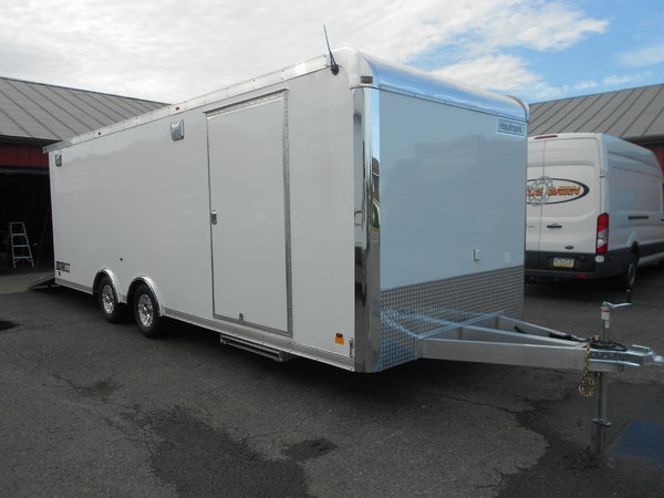 NEW 2019 ALL ALUMINUM 24' HAULMARK ALX RACE TRAILER IN PA  for Sale $22,995