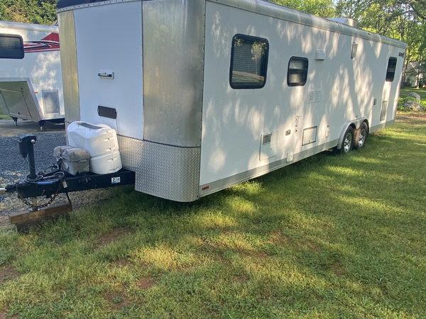 Race Trailer w/Living Quarters  for Sale $9,500