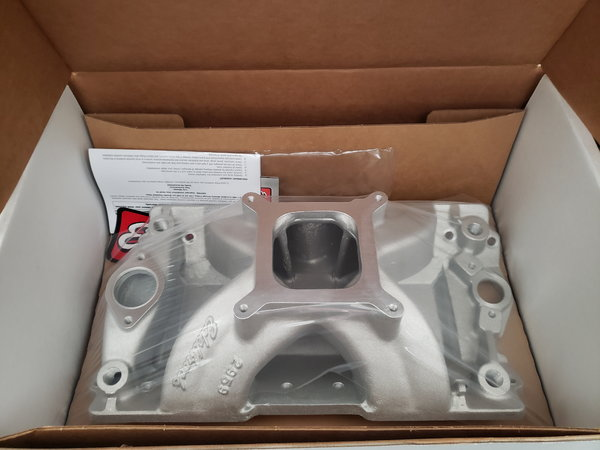 Edelbrock #2959 18 degree intake New In Box!  for Sale $400