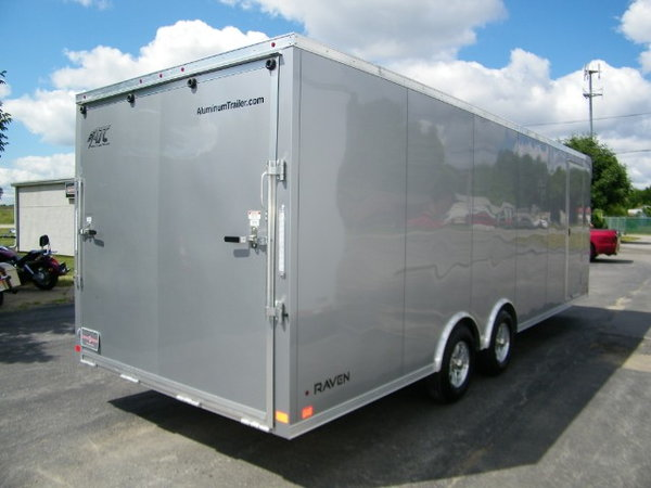 2019 ATC Raven 8.5x24 Aluminum w/Escape Door