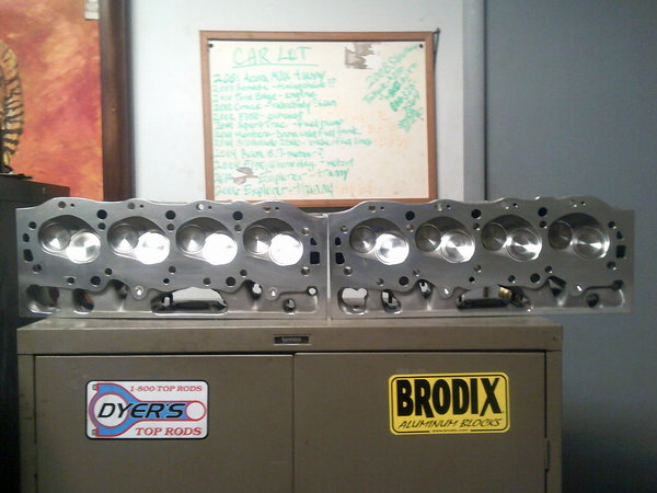 BB/C Brodix Racing Heads Complete  for Sale $2,000