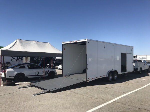 SCCA 2012 Mustang with enclosed 28' trailer  for Sale $98,500