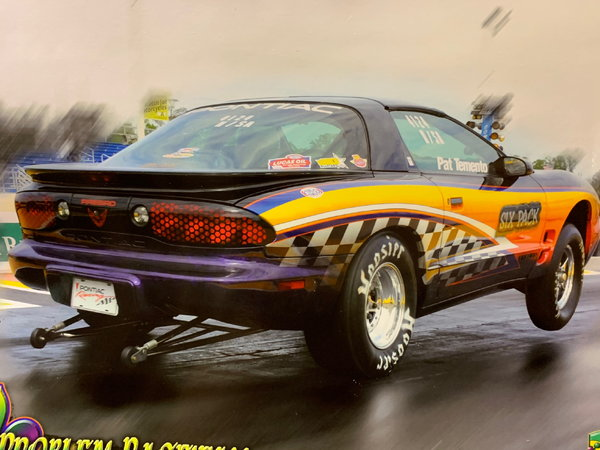 2002 Pontiac Firebird Stock Eliminator/Bracket Racecar/N,M,O  for Sale $21,995