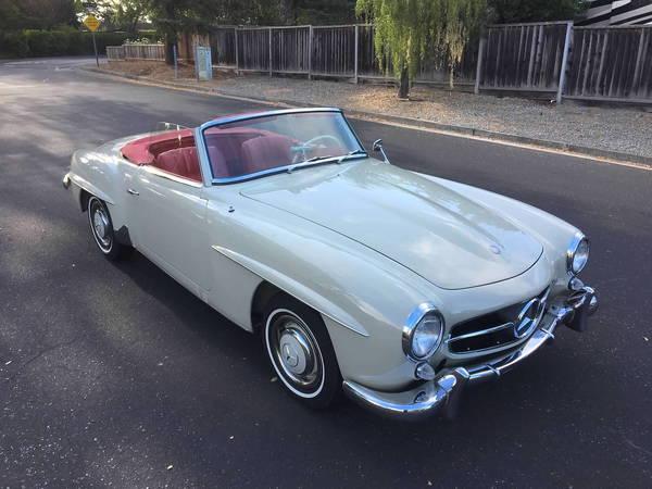 1961 Mercedes-Benz 190SL  for Sale $45,000