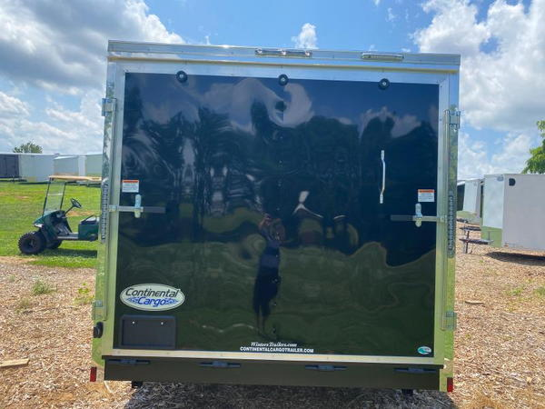 2022 CONTINENTAL CARGO VHW7.5X16TA2 ENCLOSED CARGO TRAILER  for Sale $8,699