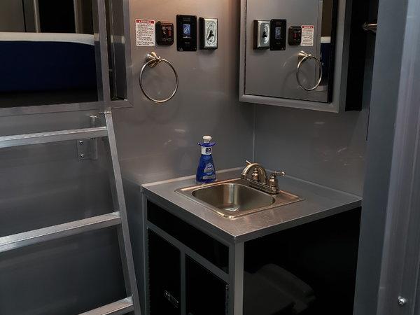 Intech 14 ft living quarters gooseneck trailer  for Sale $105,000