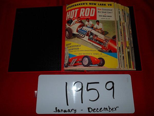 Hot Rod Magazines