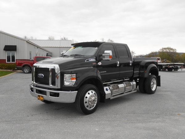LOADED!!!! 2019 FORD F650 CREW CAB PICKUP TRUCK!!! LEATHER,