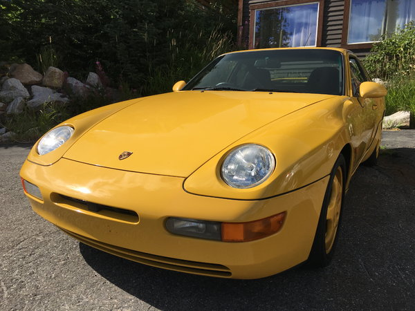 1993 Porsche 968  for Sale $38,000
