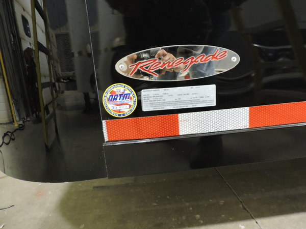 2017 RENEGADE ALL ALUMINUM KAT 25' STACKER TRAILER  for Sale $69,999