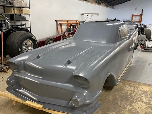 Nicest 57 Chevy Body Ever Made