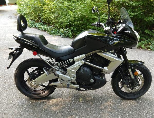 2010 Kawasaki Versys 650 KLE650  for Sale $4,000