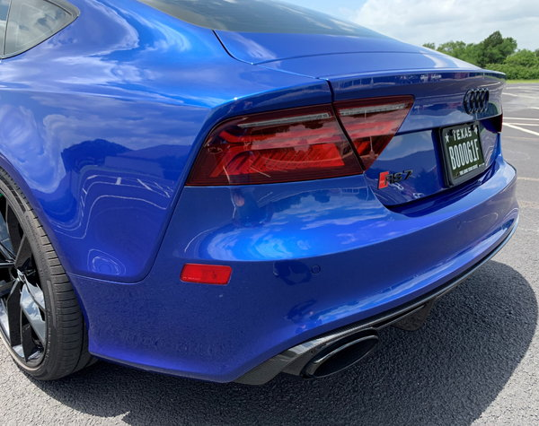 Meticulously Upgraded 2017 Audi RS 7 Performance Prestige  for Sale $85,000