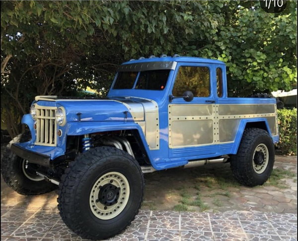 1956 jeep Willys with LS1 corvette motor  for Sale $35,000
