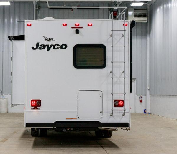 2020 jayco redhawk 25r outside kitchen class c motorhome rv for sale in grand rapids  mi