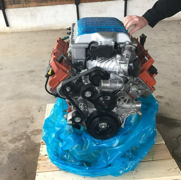 Dodge-6-2L-Hellcat-Complete-Drop-In-Engine-Assembly-Hot-Rod  for Sale $8,000